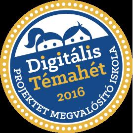 Digitális Témahét logó